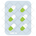Pills Strip Capsules Icon