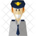 Pilot Professional Worker Icon