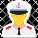 Pilot Driver Captain Icon