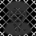 Pilot Captain Aircrew Icon