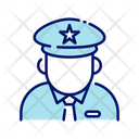 Pilot Airplane Pilot Driver Icon
