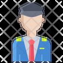 Pilot Airline Pilot Captain Icon