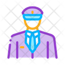 Pilot Profession Professions Icon