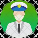 Pilot Aircrew Airline Pilot Icon
