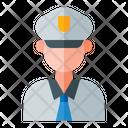 Pilot Airplane Aviator Icon