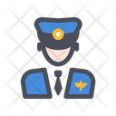 Pilot Man Avatar Icon