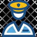 Pilot Aircrew Flight Icon