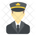 Pilot Aircrew Flight Icon