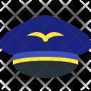 Pilot Hat Icon