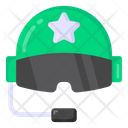 Pilot Helmet Icon