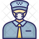 Pilot Captain Army Captain Icon