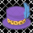Hat Cap Magician Hat Icon