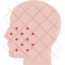 Pimples Treatment Face Icon