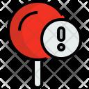 Pin Map Locate Icon