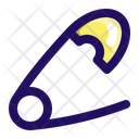 Pin Safety Clasp Icon