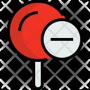 Pin Remove Map Icon