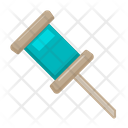 Pin Office Supply Icon