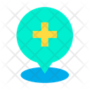 Hospital Place Hospital Location Icon