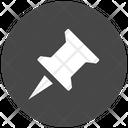 Pin Bookmark Marker Icon