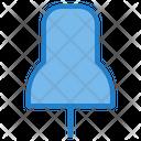 Pin Thumbpin Pushpin Icon