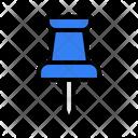 Pin Thumbpin Stationery Icon