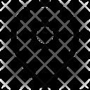 Pin Gps Location Icon