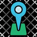 Pin Pin Location Icon