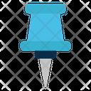 Pin Thumbtack Pushpin Icon