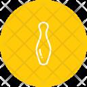 Pin Tenpin Bowling Icon