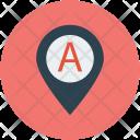 Pin Pointer Mark Icon