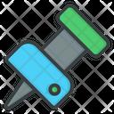 Pin Push Pin Security Pin Icon