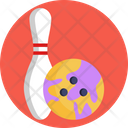 Bowling Pin Skittle Icon