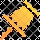 Pin Thumb Pin Attachment Icon