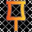 Pin Attach Detain Icon