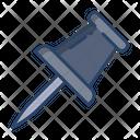 Pin Thumb Pin Pushpin Icon