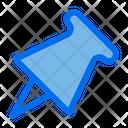 Pin Pushpin Tack Icon