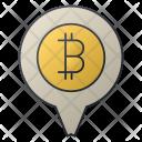 Pin Location Money Icon
