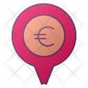 Pin Location Money Icon