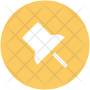 Pin Push Navigational Icon