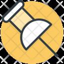 Pin Push Thumbtack Icon