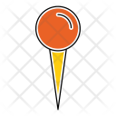 Pin Attach Gps Icon