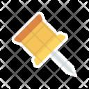 Pin Attach Mark Icon
