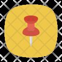 Pin Marker Clip Icon
