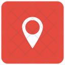Pin Location Map Icon