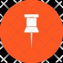 Pin Affixing Icon