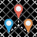 Pin Location Path Icon