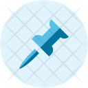 Pin Thumb Thumbtack Icon