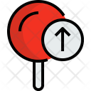 Pin Arrow Map Icon
