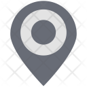 Circle Map Pin Icon