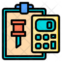 Pin Accounting Report Icon